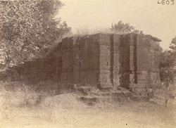 General view of the ruins of the Tapeshvara Temple, Lohara